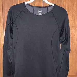 North Face FastDry Black Long Sleeve Shirt